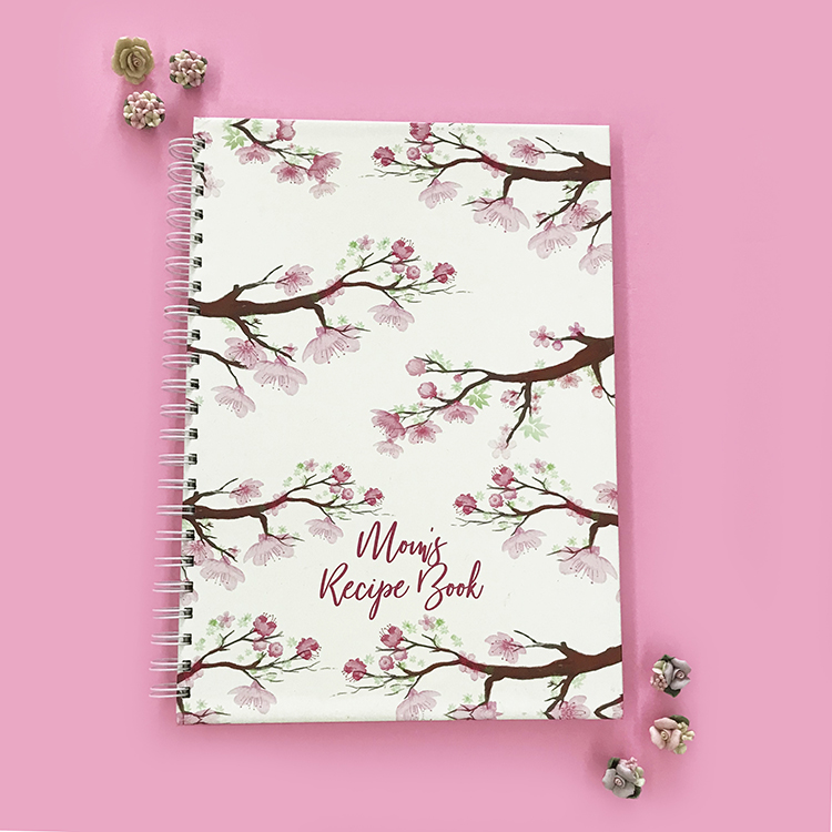 Cherry Blossoms Recipe Book Idea | The Craftables Online Shop