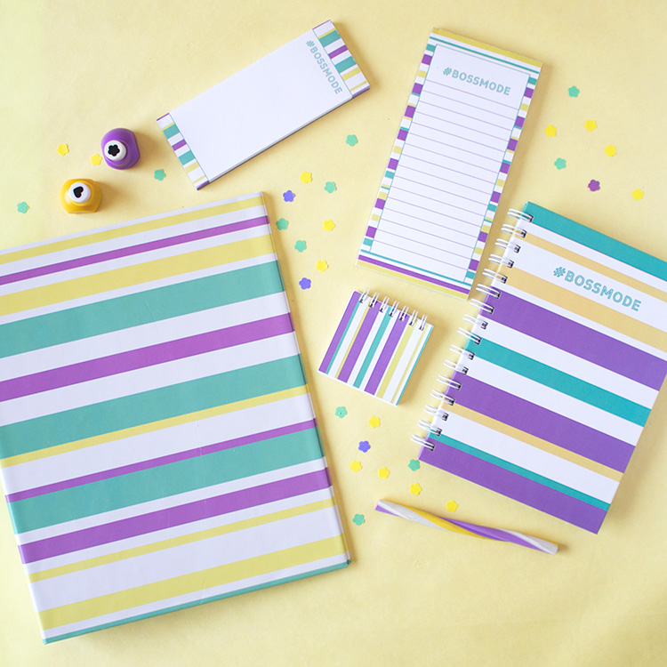 Bossmode Stationery Set | Mellow Yellow | The Craftables 1