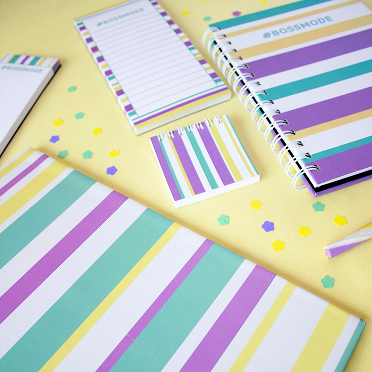 Bossmode Stationery Set | Mellow Yellow | The Craftables 2