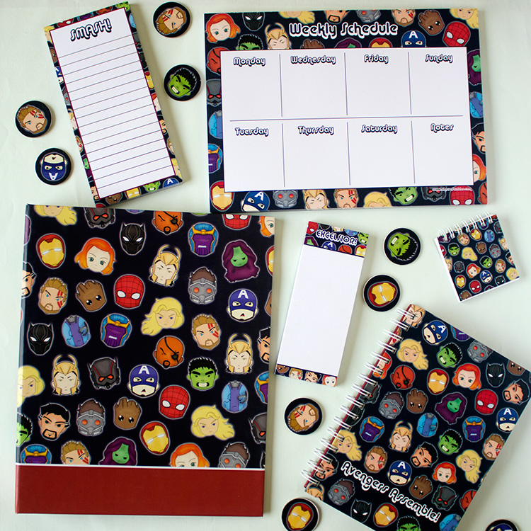 Marvellous Stationery Set | The Craftables 1