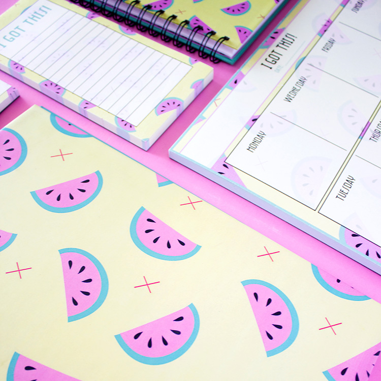 Melon Fresh Stationery Set | Summer | The Craftables 2