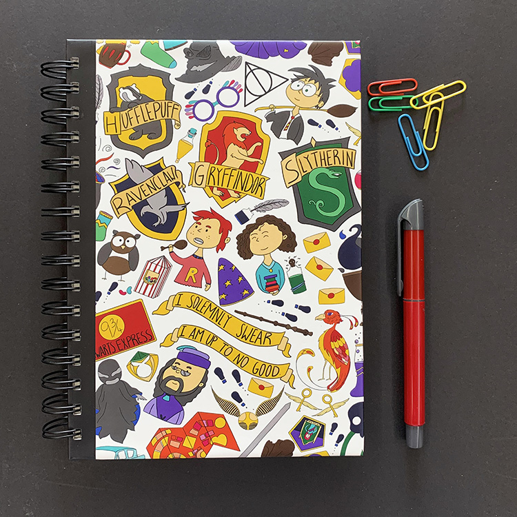 Wizarding World Notebook | The Craftables 1