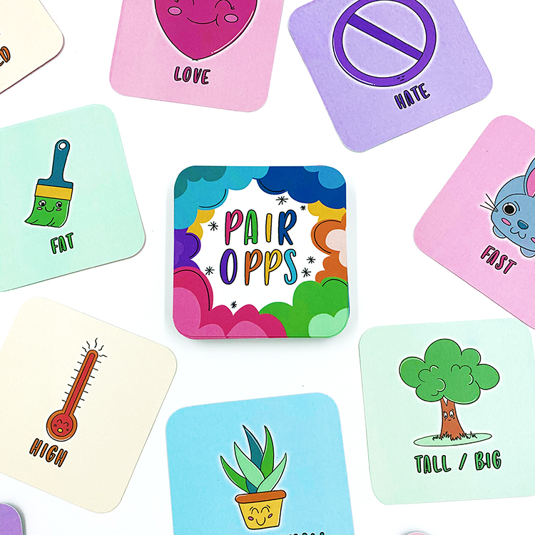 Pair Opps Card Game | The Craftables 3
