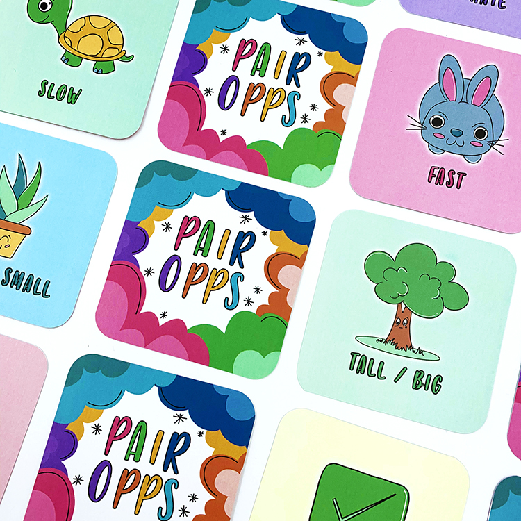 Pair Opps Card Game | The Craftables | Cute gift ideas for kids