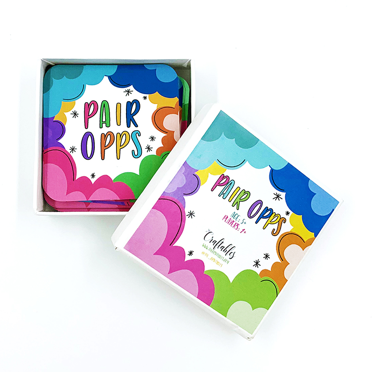 Pair Opps Card Game | The Craftables | Learn Opposites and improve your memory