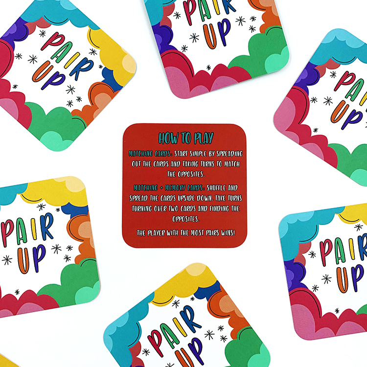 Pair Up Card Game | The Craftables | Gift learning tools for kids