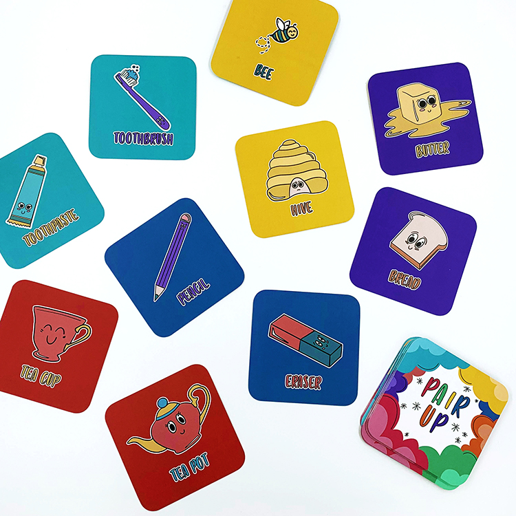 Pair Up Card Game | The Craftables | Fun learning games for 5, 6, 7 and 8 year olds