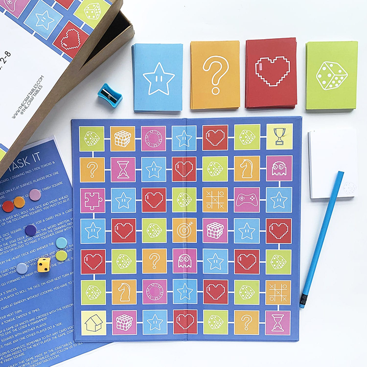 Task It Tweens | The Craftables | original board game ideas for kids