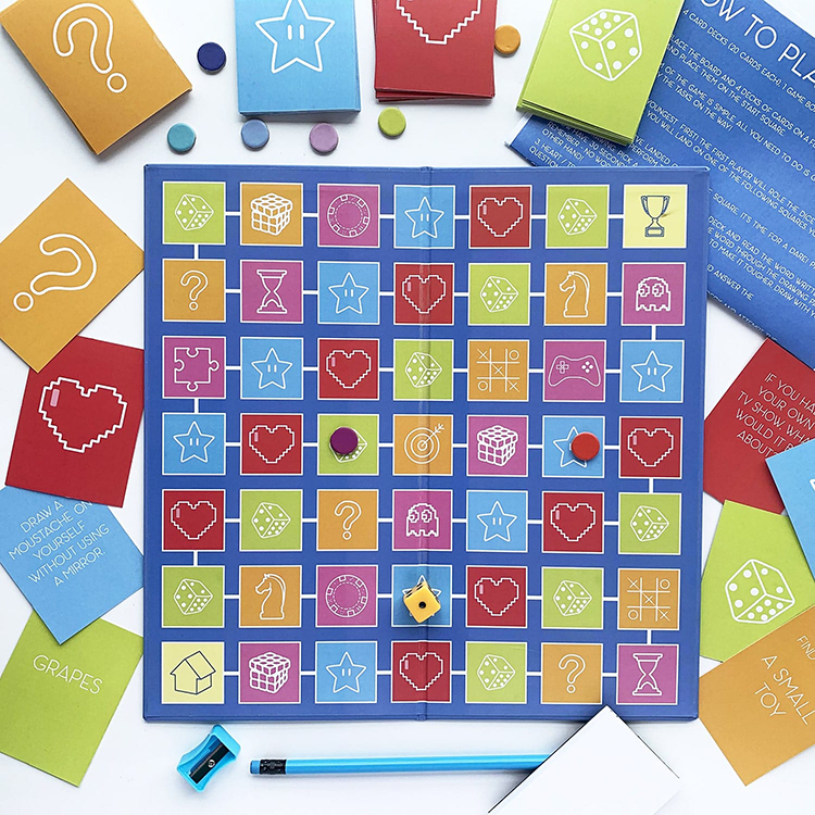 Task It Tweens | The Craftables | Snakes and ladders themed task game for kiddos