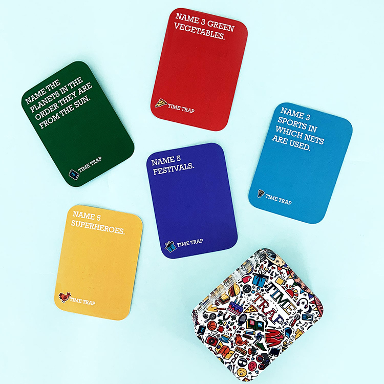 Time Trap Tweens   The Craftables Questions based trivia game for children