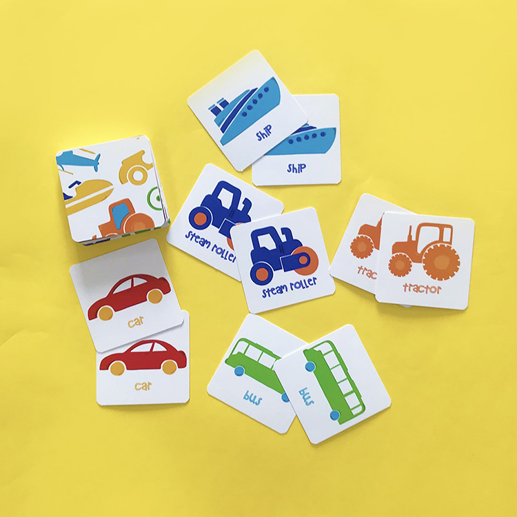 Vehicles Matching Cards | The Craftables 2