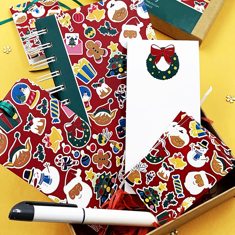 Christmassy Gift Set for Festive holidays gifting ideas | The Craftables