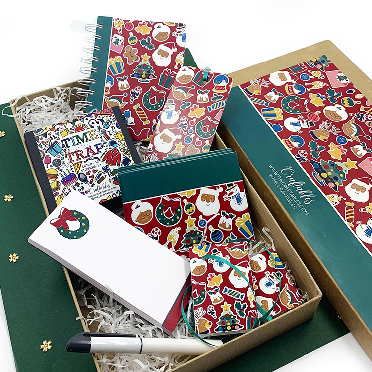 Christmassy Gifting Ideas | Stationery sets for family | The Craftables