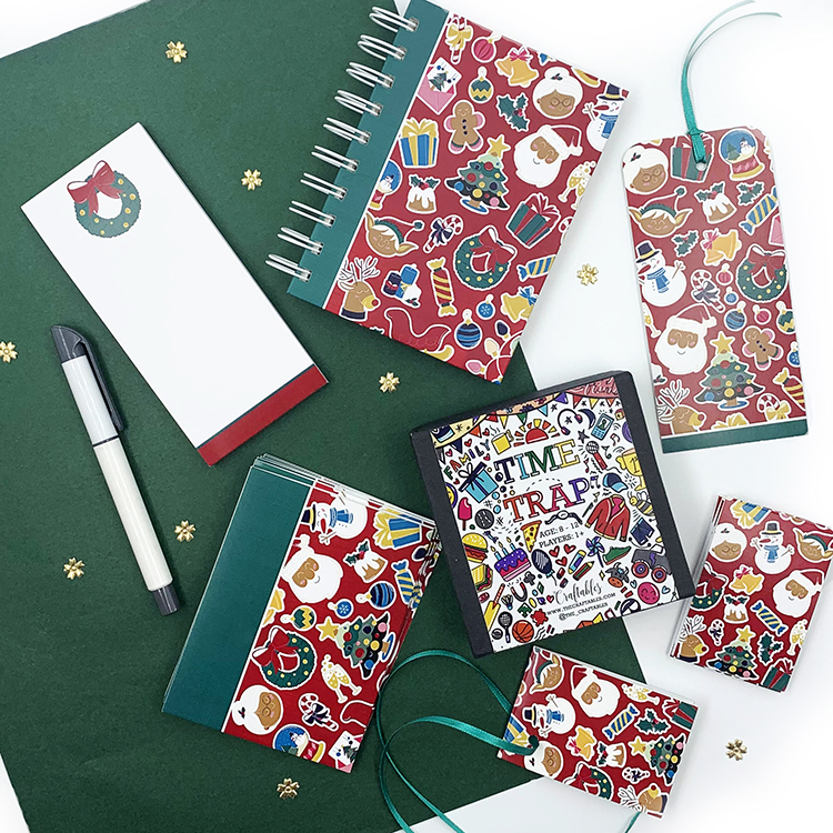 Christmassy Stationery Set Medium| The Craftables Gifting ideas for the holidays