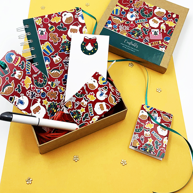 Stationery Gift Ideas for Christmas Gifting | Happy Holidays Stationery gift ideas | The Craftables