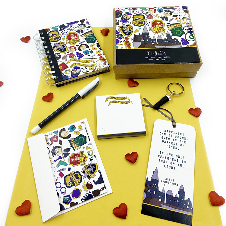 Wizarding World Stationery Set | Valentine's Day his and her gift ideas | The Craftables